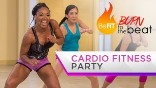 Cardio Fitness Party Workout: Burn to the Beat- Keaira LaShae