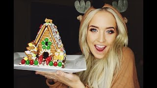 HOW TO MAKE THE ULTIMATE GINGERBREAD HOUSE - MACY KATE
