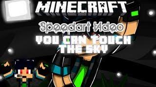 Minecraft Speedart: You Can Touch The Sky [Wallpaper]