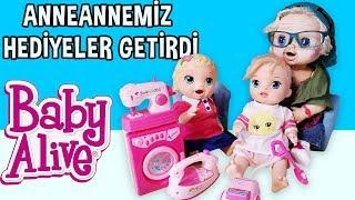 Baby Alive Oyuncak Bebeğe Anneannesinden Sürpriz Hediyeler | Bebek Videoları | Oyuncak Butiğim