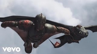"""""""Where No One Goes"""" (How To Train Your Dragon 2) [Official Lyric Video]"""
