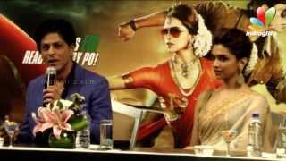 Chennai Express Movie Press Meet | Shahrukh Khan, Deepika Padukone, Rohit Shetty | Songs
