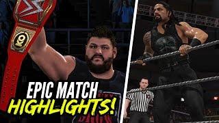 WWE 2K17 Roadblock 2016 Roman Reigns vs. Kevin Owens | Epic Match Highlights!