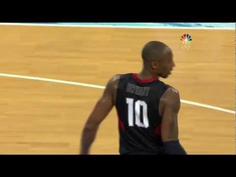 watch Kobe Bryant's clutchest game 2008 Olympics USA
