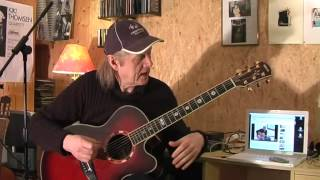 Tommy Emmanuel Guitar Boogie Section 1 Lesson by Siggi Mertens