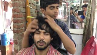 Young Indian Barber- Perfect Upper Body Massage Part-1| 4K