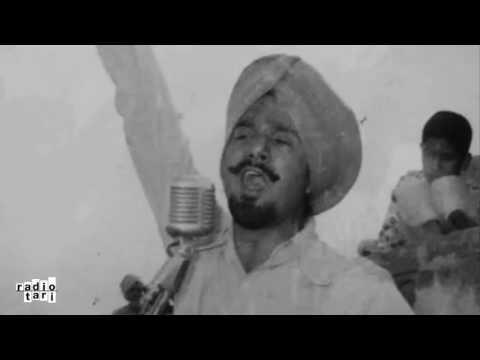 Kuldeep Manak - Muchh-phutende Gabhru (Rare original) by Radio TARI