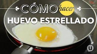 Huevos estrellados sin grasa | No fat sunny side up eggs | Kiwilimon