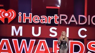 Madonna presenting Taylor Swift with the Song Of The Year Award at The iHeart Radio Music Awards