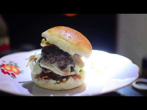 Ultra-smashed burgers at the end of the world