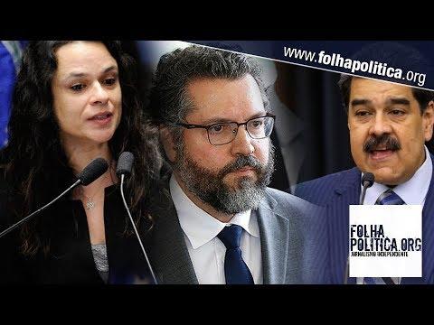 'Se Maduro entrar no Brasil, deverá ser preso', diz Janaína Paschoal