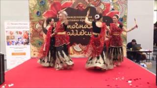 Vostochnaya Kolleksiya 2015 - Dandiya Indian Folk Dance (Amritsar Project Moscow)