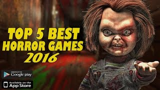 Top 5 Best New Horror Games for Android/iOS in 2016/2017    Gamerzed Tv