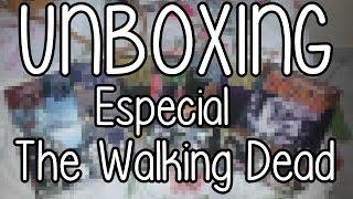 UNBOXING   HQs de The Walking Dead