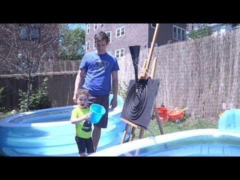 Daddy Engineer Solar Pool Heaters Design Squad