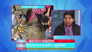 """Margarita Barrientos: """"Los chicos no piden juguetes, piden comida"""""""