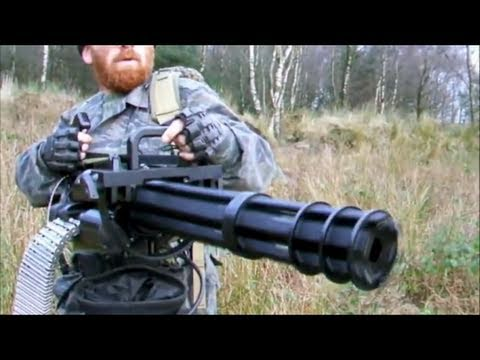 M134 MINIGUN THE FORT AIRSOFT WAR Scotland