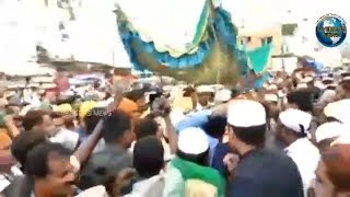 URS-E-Sharif of Dargah Yousufain Sandal Procession from Historical Macca Masjid | Overseas News