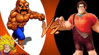 WRECK IT RALPH vs ABOBO! Cartoon Fight Club Episode 35 REACTION!!!