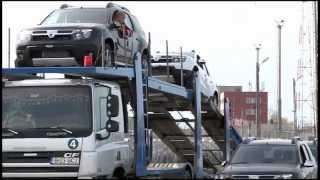 CEL MAI MARE TRANSPORT DE MAȘINI PRODUSE DE UZINA DACIA - 6000 DE AUTOTURISME