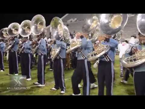 Capital City Classic (Alcorn v.s. JSU) - Post Game Tuba Battle - 2015