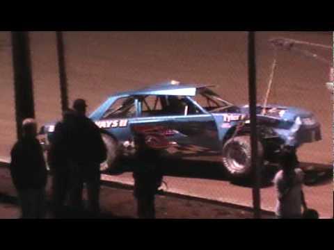 4-3-10 Hard Stock Car Crash
