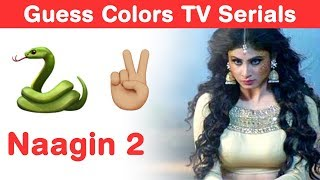 Colors TV Serials Emoji Challenge! Naagin 3 Puzzles