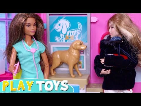 Xxx Mp4 Barbie Girl Takes Her Puppy Dog To Barbie Doll Pet Vet Doctor 3gp Sex
