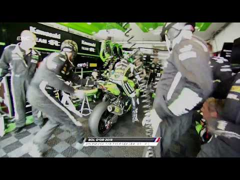 Xxx Mp4 Bol D Or 2018 Big Drama For SRC Kawasaki France Leader Of The Race 3gp Sex