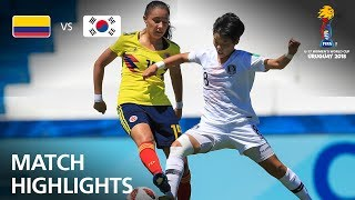 Colombia v Korea Republic  - FIFA U-17 Women's World Cup 2018™ - Group D