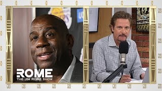 Magic Johnson Ghosted The Lakers | The Jim Rome Show
