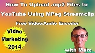 How to Upload an .mp3 to YouTube - MPEG Streamclip Tutorial to Create .mp4
