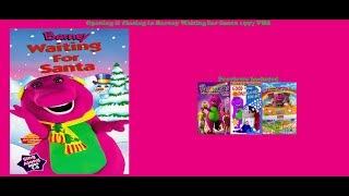Barney Waiting for Santa 1997 VHS Opening & Closing