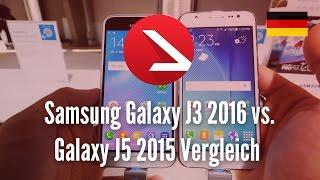 Samsung Galaxy J3 2016 vs. Galaxy J5 2015 Vergleich [4K UHD]