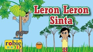 Leron Leron Sinta Animated | Filipino / Tagalog Folk Song | Awiting Pambata