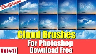 Cloud Brushes Effect For Photoshop Download Free Vol#17 [desimesikho] 2018