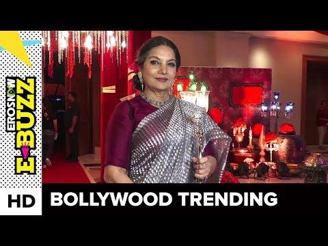 Shabana Azmi raises concern about women in India | Bollywood News | ErosNow eBuzz