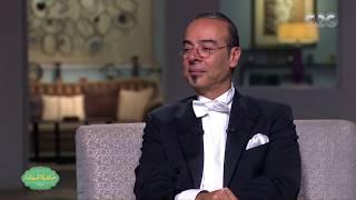 صاحبة السعادة | شاهد…ما قالته صاحبة السعادة عن المايسترو نادر عباسي