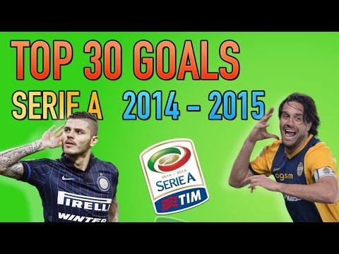 TOP 30 GOALS • SERIE A 2014 15 • I GOL PIU BELLI DELLA STAGIONE