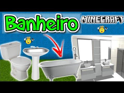 ★Como Decorar seu Banheiro Minecraft PE/PC/PS4/Xbox