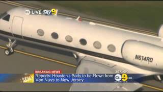 Reports  Houston's Body Flown From Van Nuys To New Jersey « CBS Los Angeles