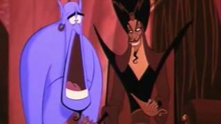 Bacio tra Jasmine e Jafar [Jasmine kisses Jafar (Aladdin Italian)]