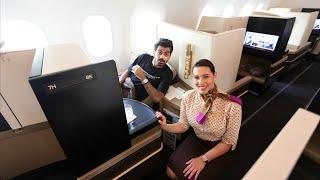 درجة رجال الأعمال طيران الاتحاد | Etihad Airways 10,000$