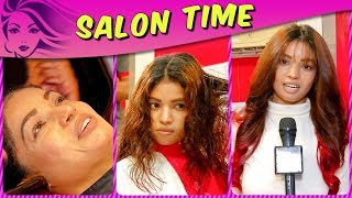 Lokesh Sharma Gets A New Hair Colour In Salon Time | TellyMasala | Bigg Boss 11