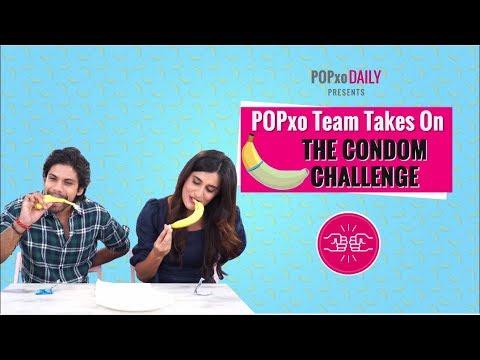 Xxx Mp4 POPxo Team Takes On The Condom Challenge POPxo 3gp Sex