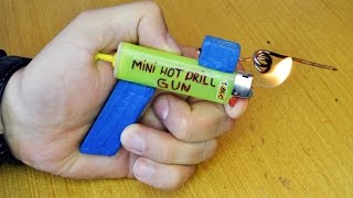 How To Make: Mini Hot Drill Gun!