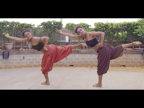 MUKTI & SHAKTI MOHAN FUSION DANCE ON SHAPE OF YOU CARNATIC MIX BY INDIAN RAGA FEAT ADITYA RAO