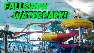 Fallsview Indoor Waterpark Niagara Falls Walkthrough