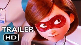 Incredibles 2 Official Trailer #3 (2018) Disney Pixar Animated Kids Movie HD