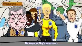 WOY'S ENGLAND PLANE TO BRAZIL by 442oons